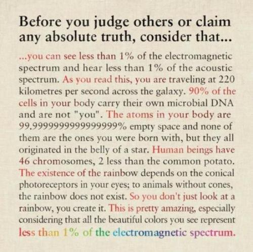 Before you pass judgement: