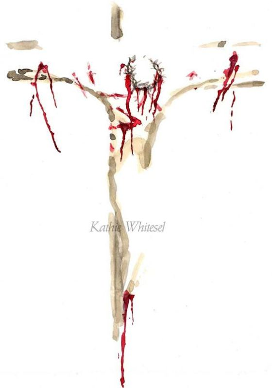 Image created and belonging to Kathie Whitesel. You can find her marvelous work at https://www.etsy.com/listing/196654382/religious-art-abstract-painting-of-jesus
